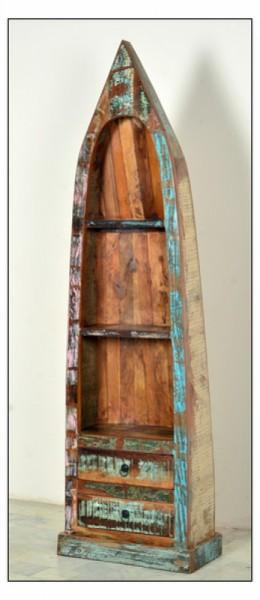 Massivholzmöbel Boot Regal 55x190x35cm