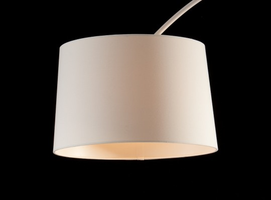 Bogenlampe weiß 205cm