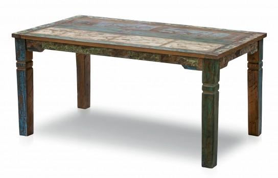 Vintage Möbel Tisch Esstisch 90x160cm Massiv