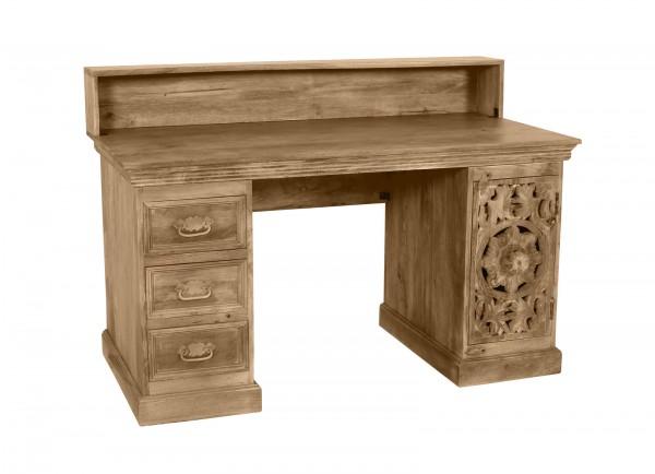 Vintage Massivholz Möbel Schreibtisch132x90x65cm