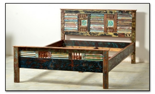 Vintage Möbel Bett 160x200cm