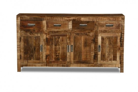 Massivholz Möbel Sideboard 160x85x42cm