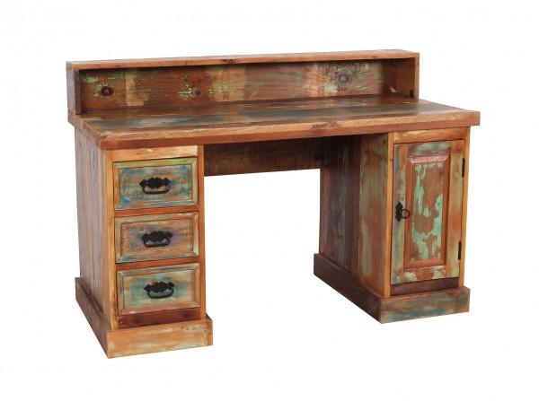 Vintage Möbel Schreibtisch 132x90x65cm Massiv
