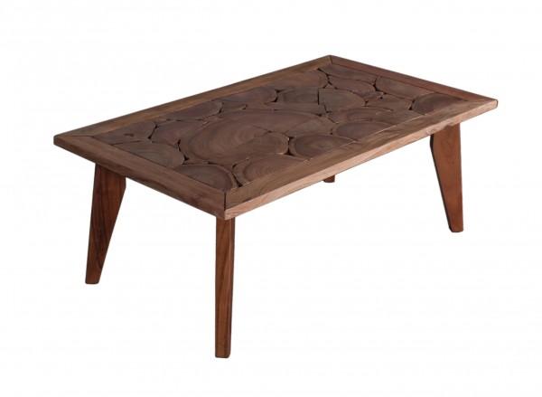 Massivholz Möbel Couchtisch 120x46x70cm