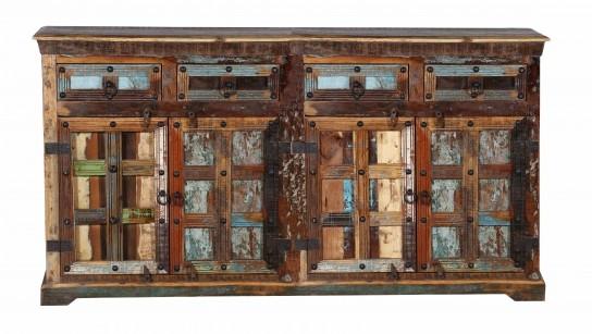 Vintage Massivholz Sideboard 170x90x40cm