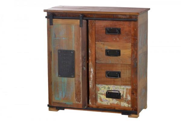 Vintage Möbel Kommode Massiv 77x80x38cm