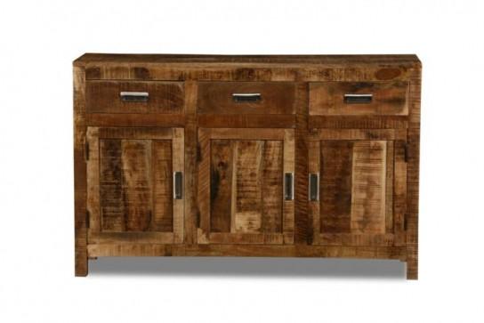 Massivholz Möbel Kommode 135x85x42cm
