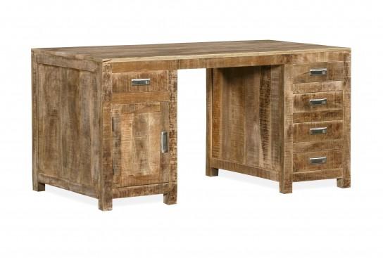 Massivholz Möbel Schreibtisch 150x76x80cm