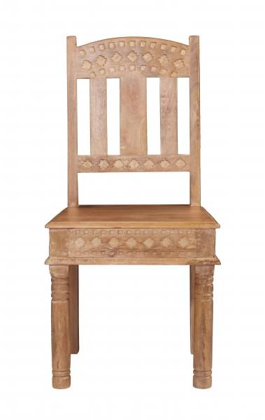 2er Set Vintage Stuhl 45x95x45cm Massiv