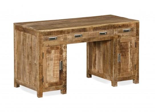 Massivholz Möbel Schreibtisch 140x79x65cm