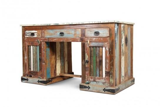 Vintage Möbel Schreibtisch 140x78x65cm