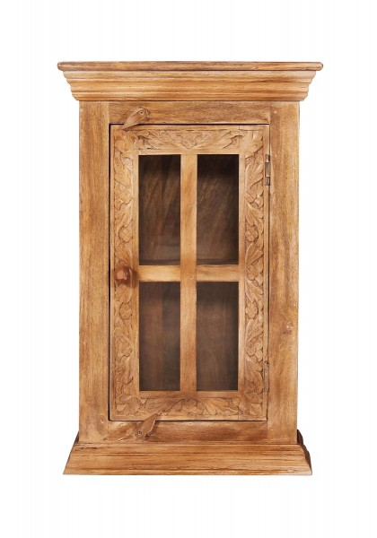 Vintage Massivholz Möbel Hängeschrank 44x70x20cm