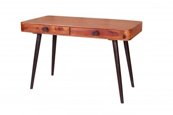 Sheesham Möbel Schreibtisch Massiv 120x76x60cm
