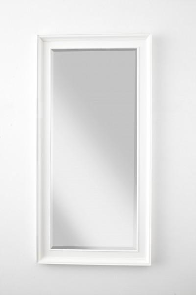 Spiegel Weiß 70x120x7cm Massiv