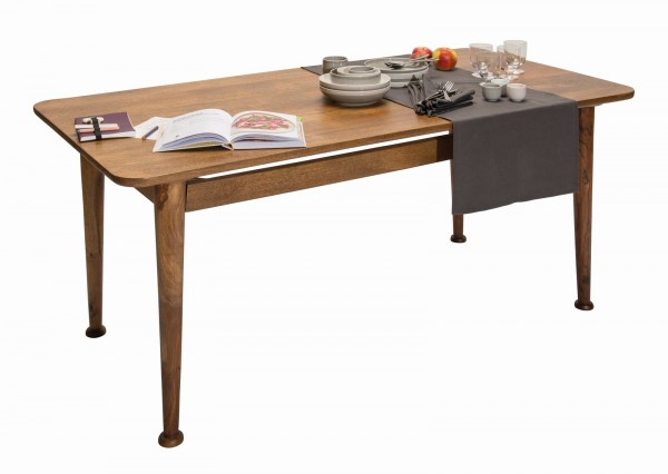Massivholz Möbel Tisch 180x76x90cm Mangoholz