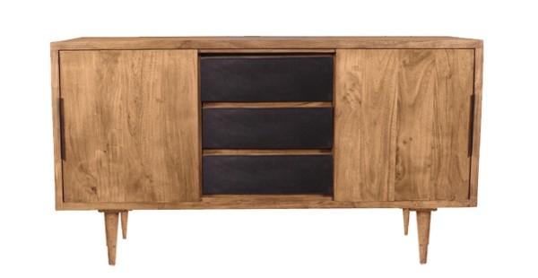 Massivholzmöbel Sideboard 140x76x45cm