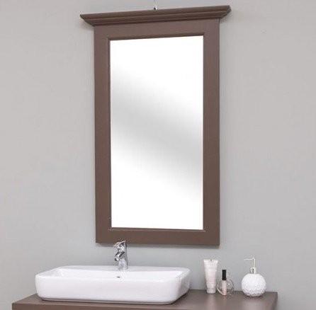 Spiegel Braun Kiefernholz 65x100x8