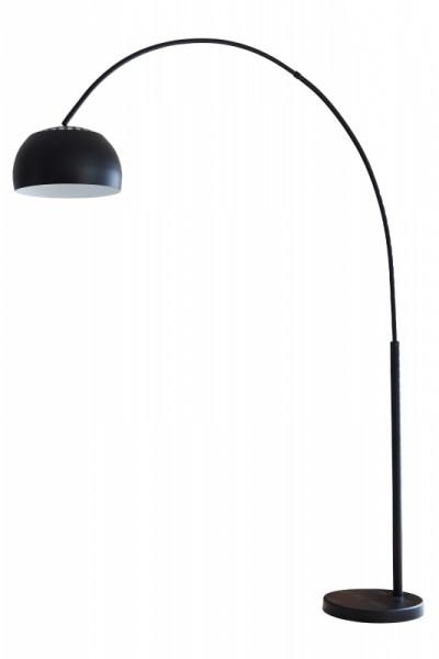 Bogenlampe 195cm schwarz