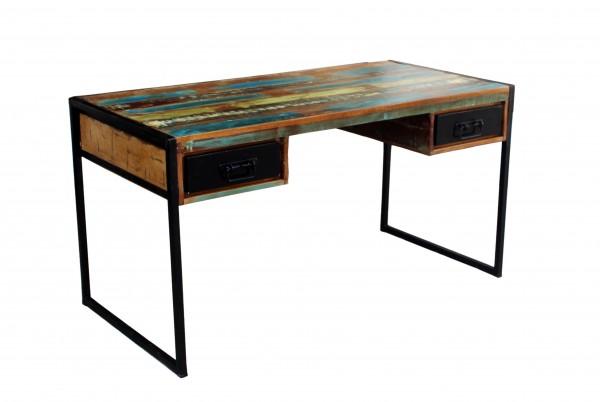 Vintage Möbel Schreibtisch 145x76x70cm Massiv