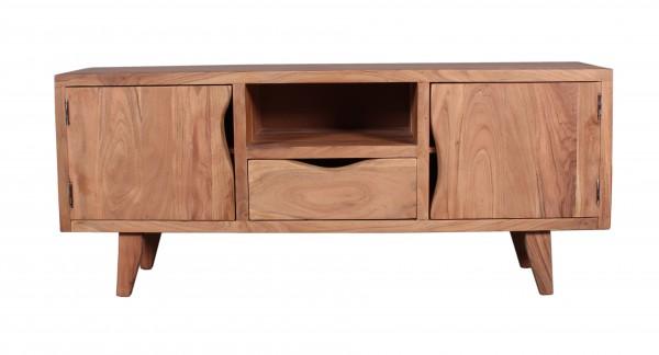 Massivholz Möbel Lowboard 180x60x40cm Vintage