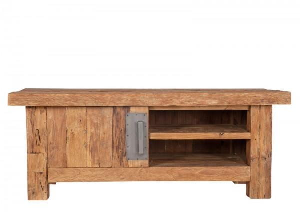 Teakholz Möbel TV Lowboard 130x50x45cm