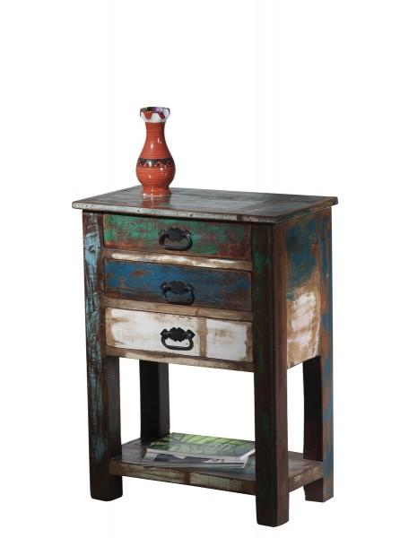 Vintage Möbel Telefontisch 60x79x32cm Massiv