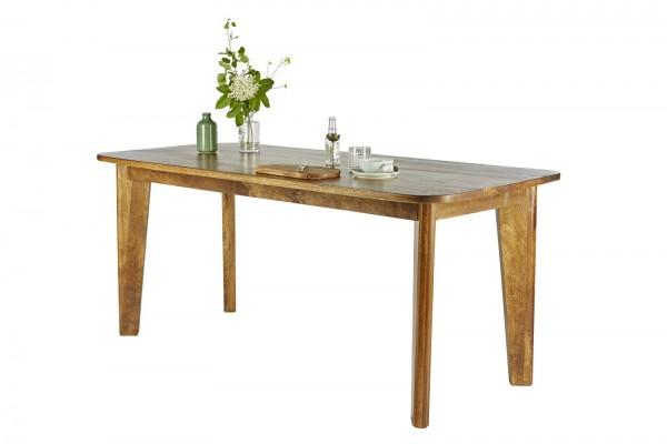 Massivholz Möbel Tisch 180x76x80cm Mangoholz
