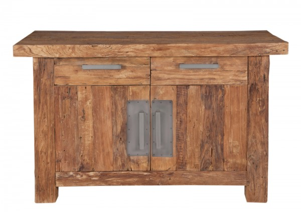 Teakholz Möbel Kommode 125x78x45cm