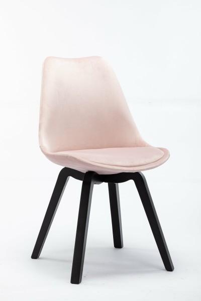 4x Stuhl aus massivem Holz Rosa 48x83x54cm