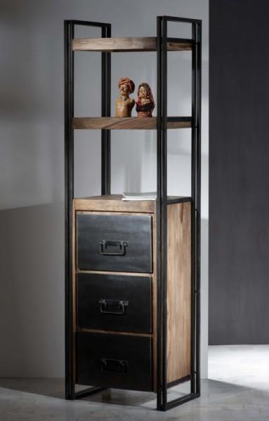 Mangoholz Möbel Regal 60x200x40cm Massiv