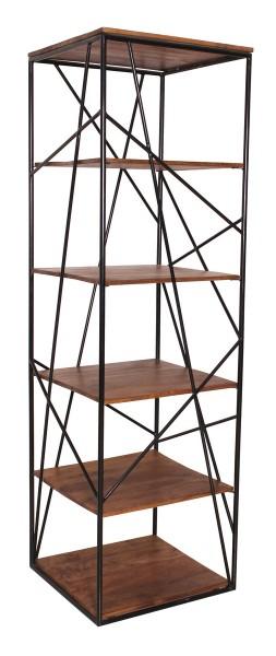Massivholz Möbel Regal 60x202x60cm Mangoholz