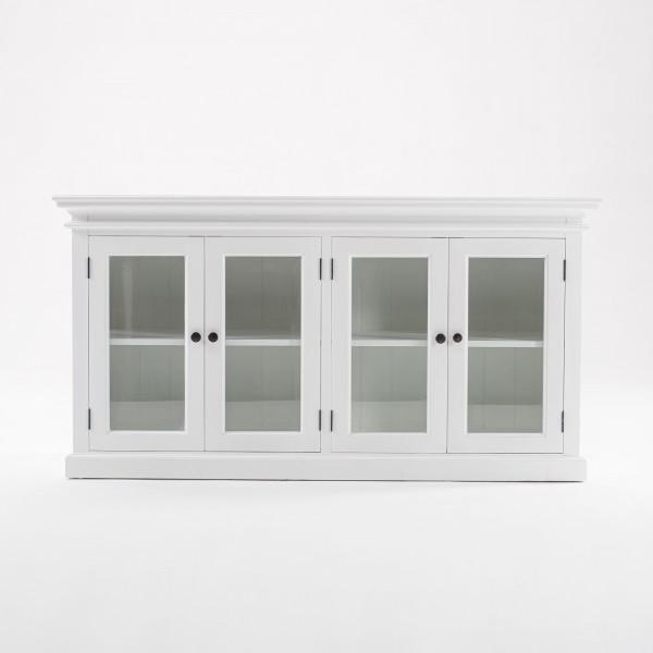 Kommode Sideboard Weiß 163x85x50cm Massiv