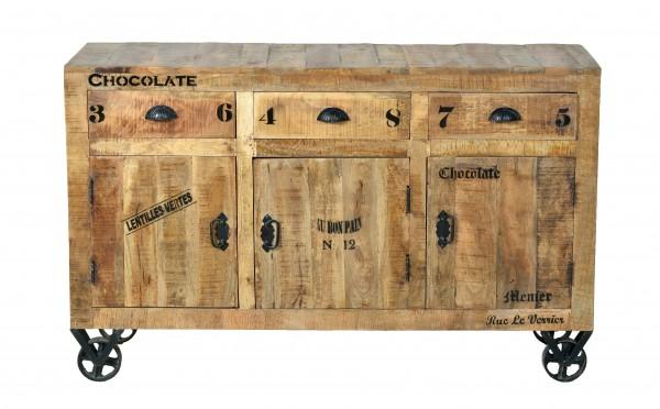 Vintage Sideboard 140x86x40cm Massiv