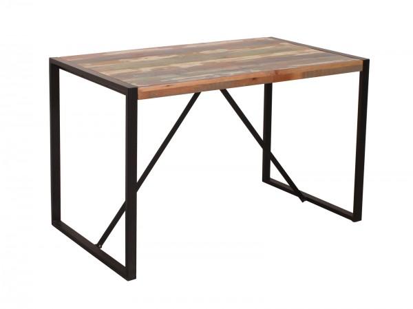 Vintage Massivholz Tisch 120x77x70cm