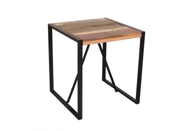 Vintage Massivholz Tisch 70x77x70cm