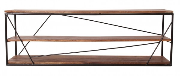 Massivholz Möbel Lowboard 140x47x40cm Mangoholz
