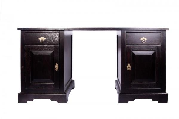 Kolonial Möbel Schreibtisch 150x75x68cm Akazie Massiv