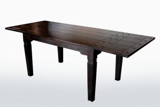Kolonial Esstisch+Ansteckplatten 90x140cm (90x220cm)