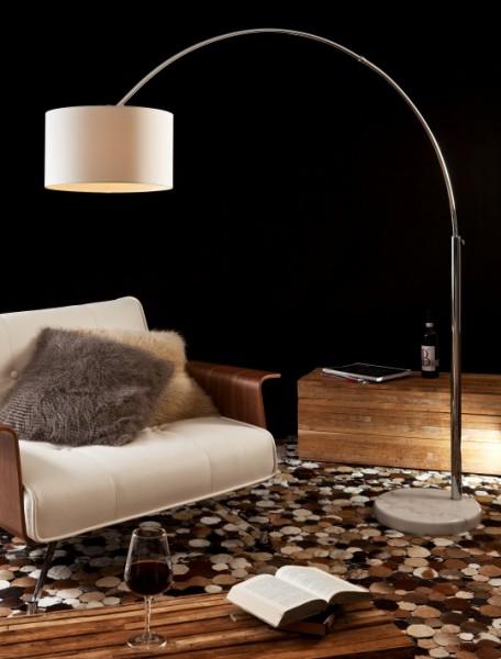 Bogenlampe weiß 210cm