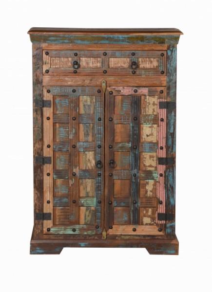 Vintage Massivholz Kommode 82x120x40cm
