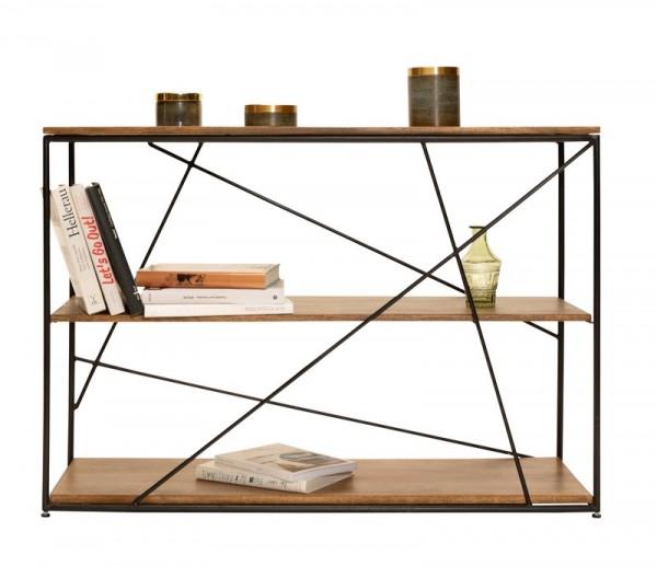 Massivholz Möbel Regal 120x82x40cm Mangoholz
