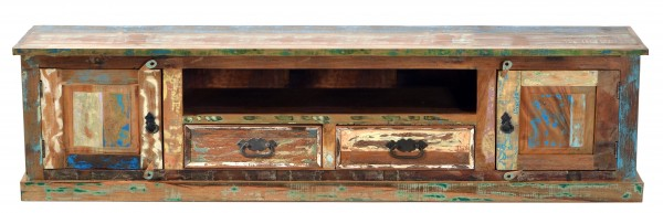 Shabby Chic TV Board 200x55x40cm Massivholz