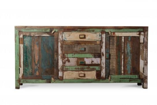 Shabby Chic Vintage Sideboard 170x80x40cm