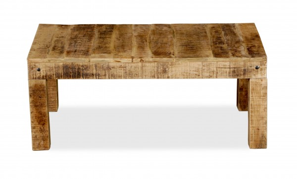 Massivholz Möbel Couchtisch 110x45x60cm