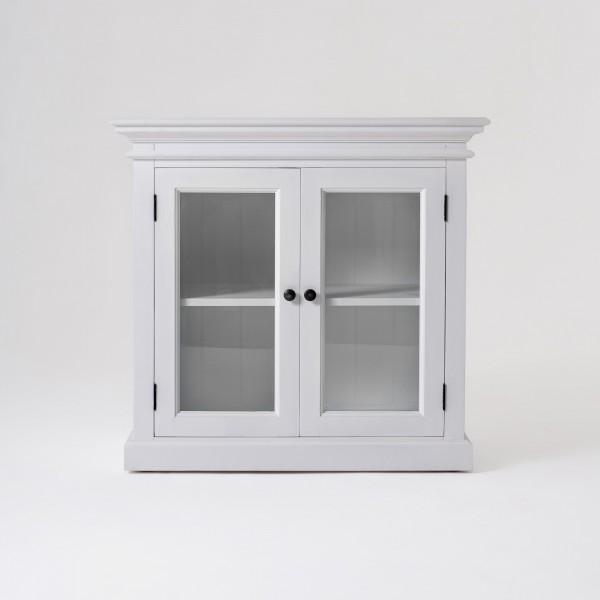 Kommode Sideboard Weiß 90x85x50cm Massiv