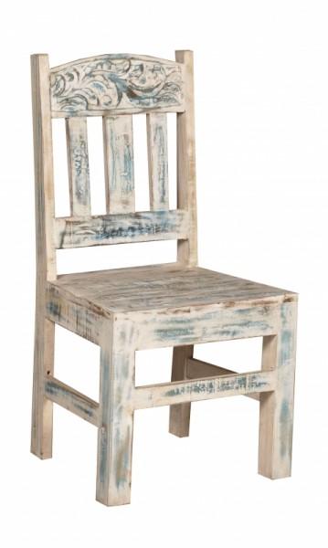 6er Set Shabby Chic Möbel Stuhl 46x100x50cm