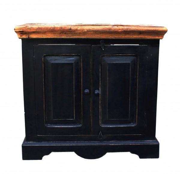 Kolonial Möbel Unterschrank 66x60x41cm Massivholz MDF