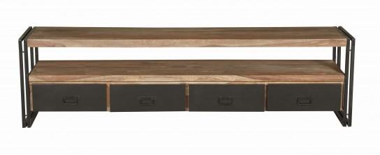 Mangoholz Möbel Lowboard 200x55x45cm Massiv