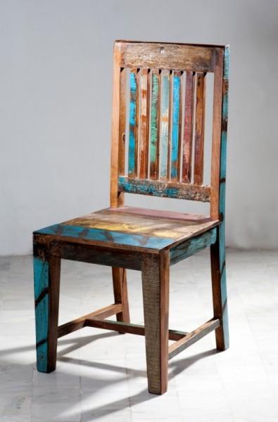 6er Set Shabby Chic Vintage Stuhl 50x100x46cm