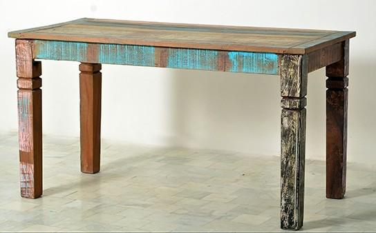 Vintage Möbel Esstisch 70x140cm Massiv